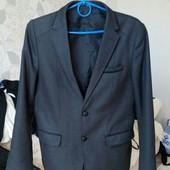 Пиджак серый размер 34-36