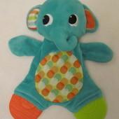 Мягкая игрушка-прорезыватель (платочек Слоник) Bright Starts