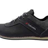 Кроссовки Columbia Leather Black Gray