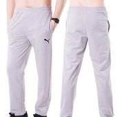 Мужские спортивные штаны трикотаж (р.46,48,50,52) разные цвета