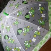 Детский зонт-трость грибком. 2 вида