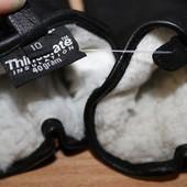 Мужские кожаные перчатки Thinsulate разм10
