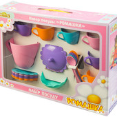 Набор игрушечной посуды Ромашка 28 элементов Арт:     39131