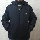 Зимняя, демисезонная куртка Adidas, р-р 50-52