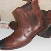 Стильные ботинки челси Clarks натуральная кожа р. 41
