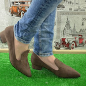 Фирменные!Престижные Туфли Лоферы 3 цвета!(черные,синие,каппучино)