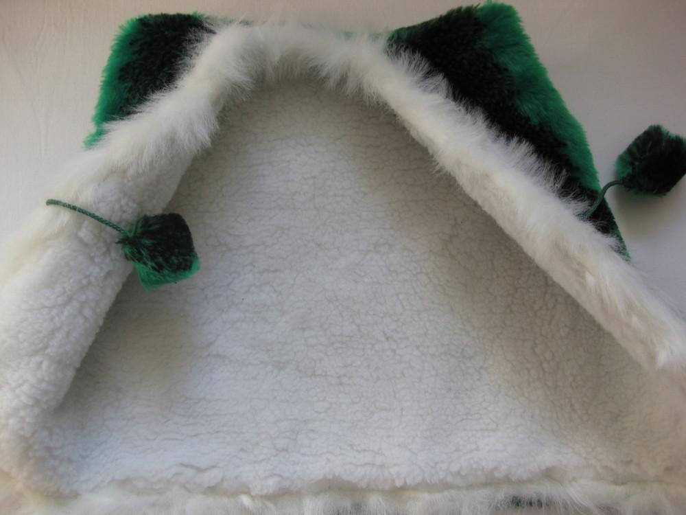 Меховая жилетка 2-4г, можно для двойняшек фото №2