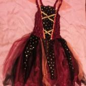 Карнавальное новогоднее платье волшебницы колдуньи George