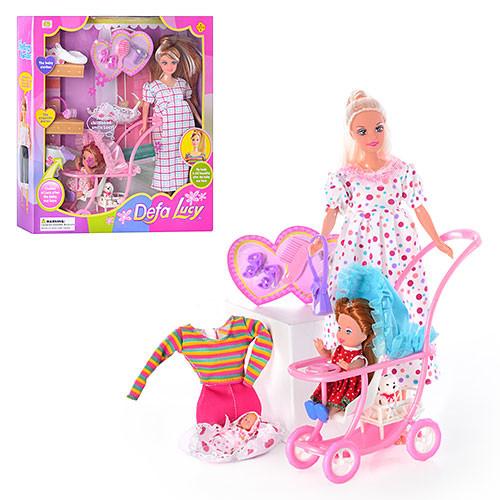 Кукла барби беременная defa 8049 фото №1