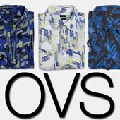 Рубашка мужская slim fit jeanswear 72D фирмы OVS Италия