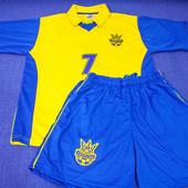 Футбольная форма Украина Шевченко 7  на рост  170 см 180 см