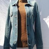 Джинсовый пиджак  от Mng jeans -m/l-100грн