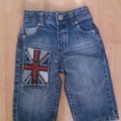 Фирменные джинсы 6-9 месяцев