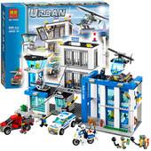 Конструктор Bela 10424 (аналог Lego City 60047) Полицейский участок