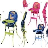 Детский стульчик Hс100a для кормления, 2 в 1, ремни безопасности