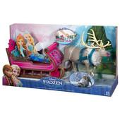 Игровой набор Disney Frozen Свэн с санями от Mattel