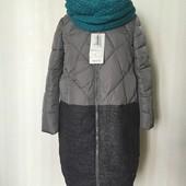 Женское демисезонное пальто пуховик