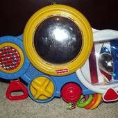 игрушка  музыкальная развивающая fisher price на кроватку