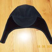 Фирменная флисовая шапка для мужчины-56-58 см