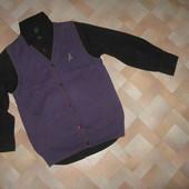 Школа и не только.Шведки,рубашки,жилет,джемпер на 7-9лет.