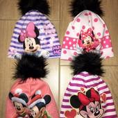 Стильная шапочка для девочки модели
