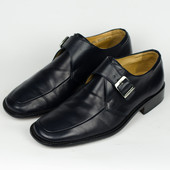 Фирменные кожаные монки Bally Оригинал туфли Швейцария 39,5р.