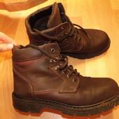 кожаные зимние ботинки 43 р Италия