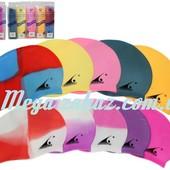 Шапочка для плавания Model Mix в индивидуальной упаковке: микс цветов