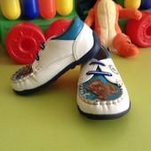 Детские туфли мокасины!Размер 22!