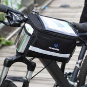 Велосумка, велосипедная сумка на руль Roswheel