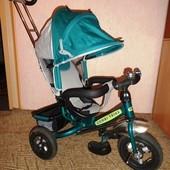 Детский трехколесный велосипед с родительской ручкой Tilly Combi Trike