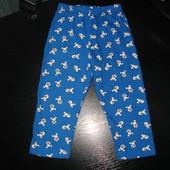 пижамные штаны Disney 18-24 мес 100% х/б состояние новых