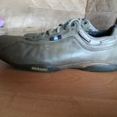 Добротные спортивные туфли Sebago, кожа полностью