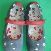 Кожаные туфельки 23,5  см,36 р