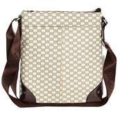 Мужская стильная сумка имитация ткани (Е-54076)