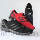 Замшевые мужские демисезонные кроссовки