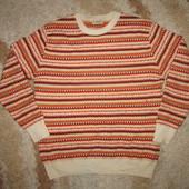 Качественный теплый мужской свитер размер XL-XXL