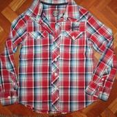Рубашка H&M на мальчика 134 р