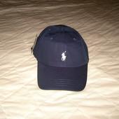 Темно-синяя кепка, бейсболка Ralph Lauren