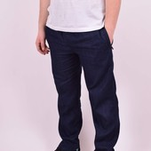 Брюки джинсовые летние на резинке с 52 по 58 р-ры