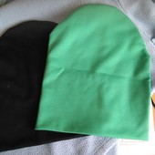 нова шапка на вибір,капучіно,бірюза і темно-синя