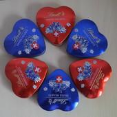 Lindt swiss hearts. Швейцарский, оригинальный шоколад 90g