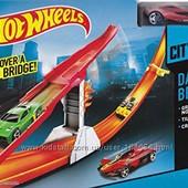 Трек Hot Wheels danger bridge хот виллз