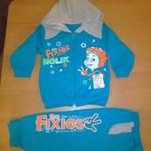 Спортивный костюм Фиксики 34 размер
