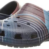 Кроксы crocs classic geometric mule, раз. М11 - 29см