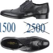 Распродажа - 40% кожаные туфли Италия