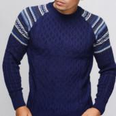 Шерстяные свитера от производителя Много расцветок!