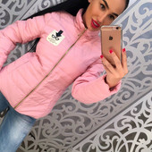 Женская демисезонная курточка в расцветках .Размер : 42, 44, 46 {