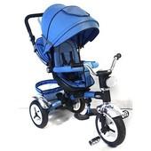 Велосипед-Коляска с поворотным сиденьем 3199 фара и надувные колеса