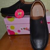 Туфли макасины на мальчика 33 размер